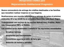 OTORGAREMOS CRÉDITOS PARA MEJORAMIENTO HABITACIONAL PROGRESIVO